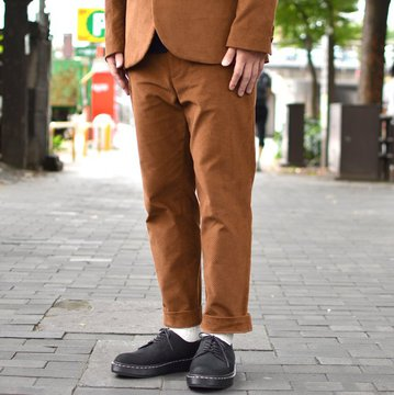 【2018 AW】  EEL products(イ—ルプロダクツ)/ LIVERPOOL PANTS -(36)ORANGE- #E-18262-OR