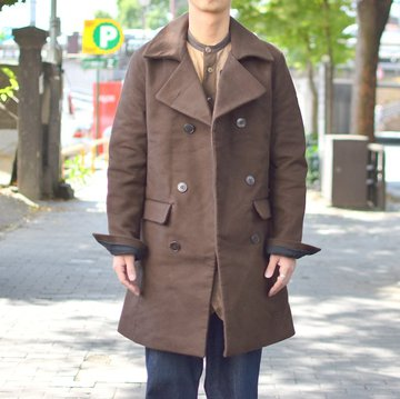 【2018 AW】 FRANK LEDER(フランクリーダー) DEUTSCHLEDER P COAT -(84)BROWN- #0421082-84-M