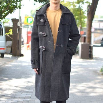 【2018 AW】 White Mountaineering(ホワイトマウンテニアリング) WM x Gloverall DUFFLE COAT WM1873223