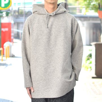 【2018 AW】 EEL products(イ—ルプロダクツ) スモックパーカー E-18568-GR
