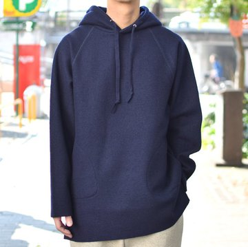【2018 AW】 EEL products(イ—ルプロダクツ) スモックパーカー E-18568-NV
