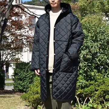 【2018 AW】COMOLI (コモリ) LAVENHAM別注 オーバーコート -BLACK- #N03-04012