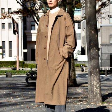 【2018 AW】YAECA CONTEMPO(ヤエカ) レインコート -BROWN- #58554BRW