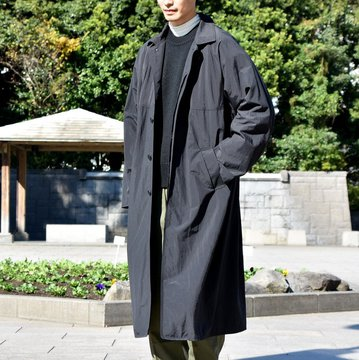 【2018 AW】YAECA CONTEMPO(ヤエカ) レインコート -BLACK- #58554BLK