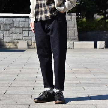 YAECA(ヤエカ) DENIM WIDE TAPERED -INDIGO- #10-14W