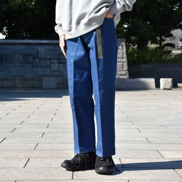 WESTOVERALLS(ウエストオーバーオールズ) 818S STRAIGHT TROUSER DENIM  -ONE WASH- #18AWPT58A