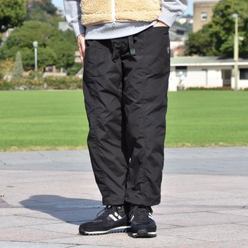 【2018 AW】South2 West8(サウスツーウエストエイト) Belted Center Seam Pant [Wax Coating] -NAVY-  #DI784