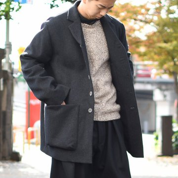【2018 AW】 too good(トゥーグッド) / THE PHTOGRAPHER JACKET CASHMERE HW -FLINT- #62033100