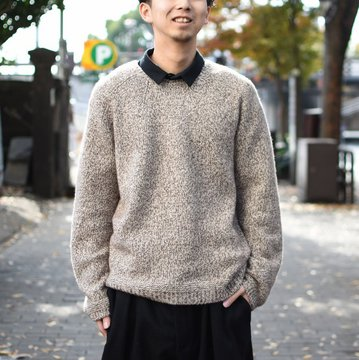 【2018 AW】 too good(トゥーグッド) / THE EXPLORER JUMPER CASHMERE KNIT -SAND- #61101210