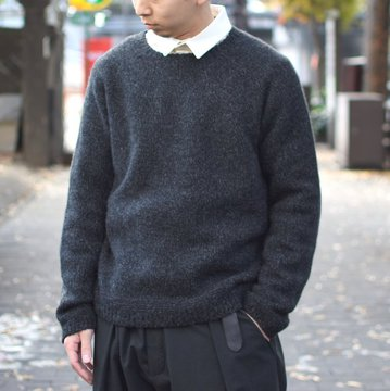 【2018 AW】 too good(トゥーグッド) / THE EXPLORER JUMPER CASHMERE KNIT -FLINT- #61101210