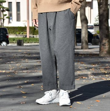 【40% OFF SALE】 Whowhat (フーワット) GUM SLACKS -GRAY- #WH-1802-P3