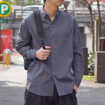 【19 SS】 TEATORA(テアトラ)/Keyboard Shirt -CARBON GRAY- #TT-SHT-001-KEY