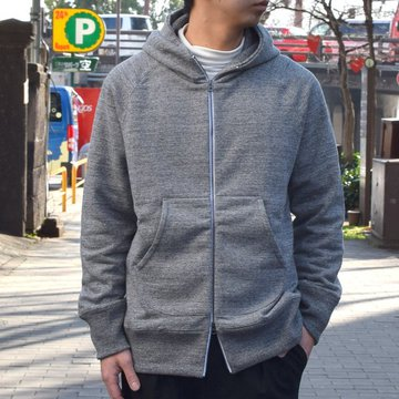 【19 SS】Curly(カーリー) RAFFY ZIP PARKA -GRAY- #191-33121R