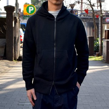 【19 SS】Curly(カーリー) BEIGHT ZIP PARKA -BLACK- #191-33121SP