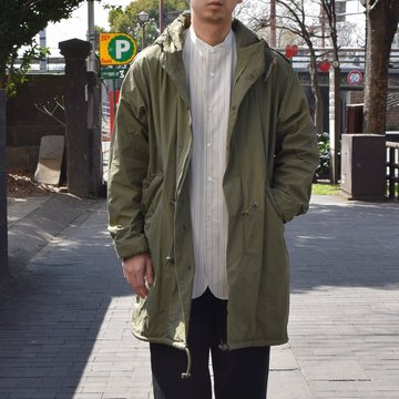 【2019 SS】YAECA LIKE WEAR(ヤエカ) M-51 Fish Tail Cort -OLIVE- #29503