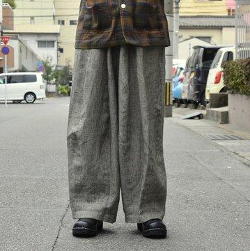 [2019ss] NEEDLES(ニードルス) DARTS MILITARY PANT-LINEN CLOTH