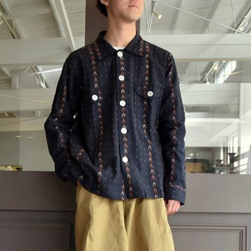 【2019 SS】South2 West8(サウスツーウエストエイト) SMOKEY SHIRT-SPIASHED #EJ186
