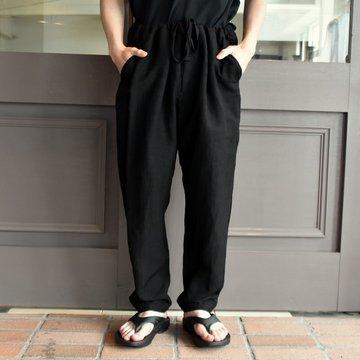 【2019 SS】COMOLI (コモリ)  ヴィスコースリネンテーパードパンツ #P01-03007