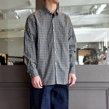 【2019 SS】COMOLI (コモリ) -コモリシャツ-#P01-02001 TARTAN