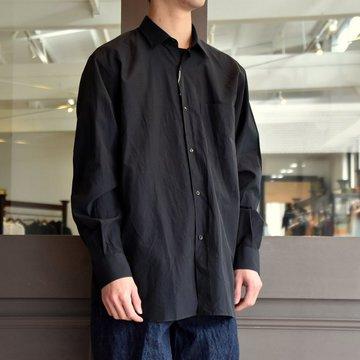 【2019 SS】COMOLI (コモリ) -コモリシャツ-#P01-02001 NAVY