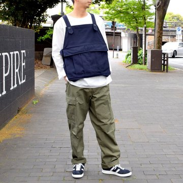 【2019 SS】BROWN by 2-tacs SEED IT -NAVY- #B21-V002