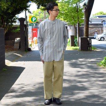 un unbient / Pull Pants Wide-KHAKI-#UNSP4019-KH