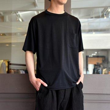 【2019 SS】COMOLI (コモリ) ウール天竺 半袖lクルー #P01-05007