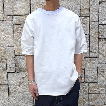 【2019 SS】 CAMIEL FORTGENS(カミエル フォートゲンス)/ FOOTBALL TEE HEAVY COTTON JERSEY
