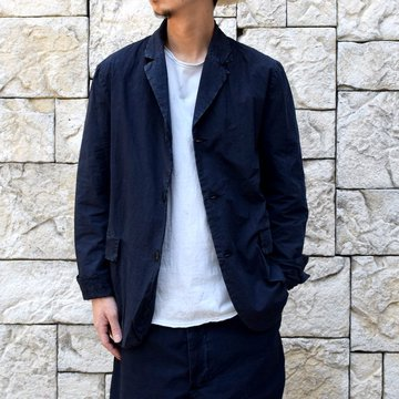 【2019 SS】 CASEY CASEY(ケーシーケーシー)/K JACKET-Dark Navy- #12HV185