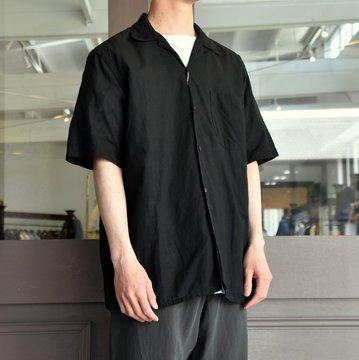 【2019 SS】COMOLI (コモリ) -ベタシャンオープンカラーシャツ- P01-02009