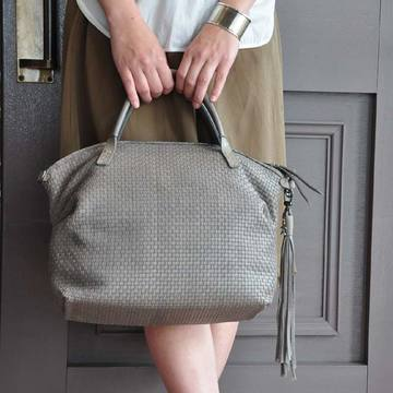 HENRY BEGUELIN(エンリーベグリン) JULIE INTR.M / INTR PANAMA SOFT(2WAYメッシュバッグ)
