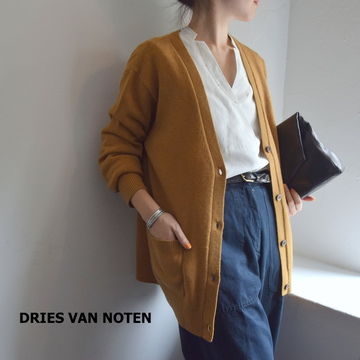 【40% OFF SALE】DRIES VAN NOTEN(ドリスヴァンノッテン) MAJA Cardigan(OCR)【K】