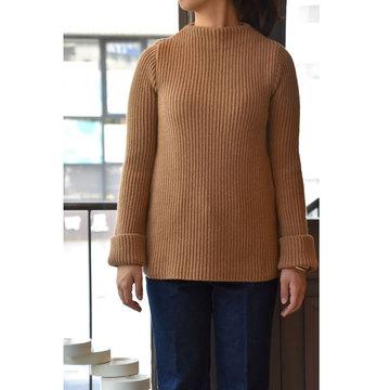 【30% off sale】CristaSeya(クリスタセヤ)  Pure sweater(リブニットセーター)
