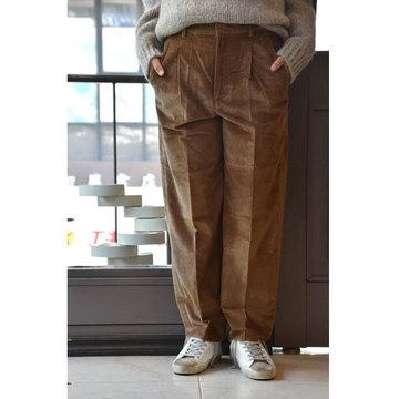 【30% off sale】CristaSeya(クリスタセヤ)  Corduroy pants(コーデュロイパンツ/camel)