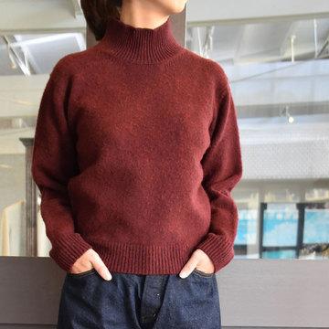 YAECA(ヤエカ) 7G wool ニット タートルネック(2色展開)