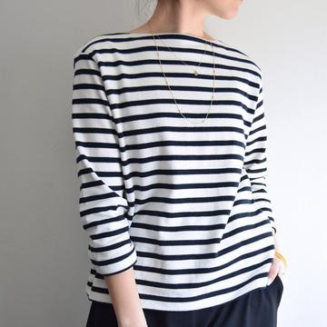 YAECA(ヤエカ) バスクシャツロング【K】