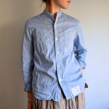 commono reproducts (コモノリプロダクツ) STAND SHIRT【K】
