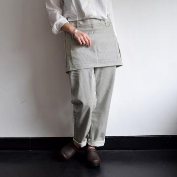 ASEEDON CLOUD(アシードンクラウド) Handwerker apron-trousers【T】