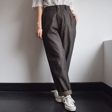 commono reproducts (コモノリプロダクツ) WIDE TROUSER PANTS【K】
