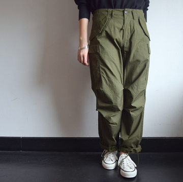 YAECA(ヤエカ)LIKE WEAR M51 フィールドパンツ【K】