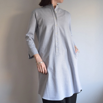 HARRIS WHARF LONDON(ハリスワーフロンドン) Woman shirt dress Cotton shirt