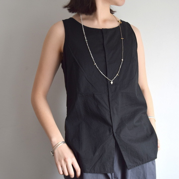 commono reproducts (コモノリプロダクツ) TANK OPEN SHIRT(2色展開)【K】