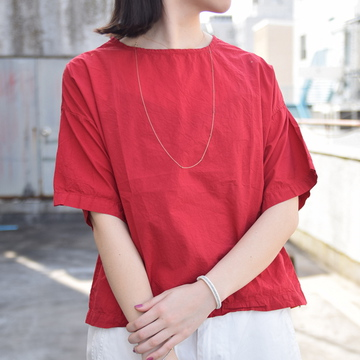 commono reproducts (コモノリプロダクツ) SS Tee Shirt(RED)【K】