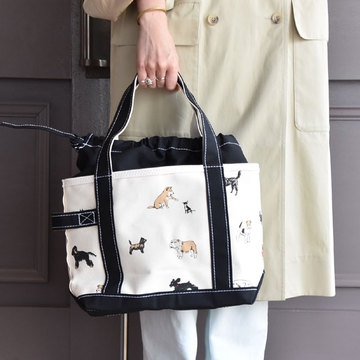 TEMBEA(テンベア) TOTE BAG SMALL PRINT(DOG)