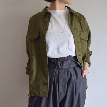 YAECA(ヤエカ) BAKER SHIRT ベイカーシャツ【K】