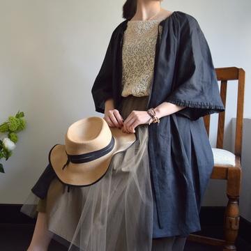 Bilitis dix-sept ans(ビリティス・ディセッタン)Linen Coat(2色展開)