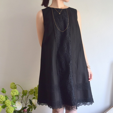 Bilitis dix-sept ans(ビリティス・ディセッタン)Leaver Lace Tunic Dress