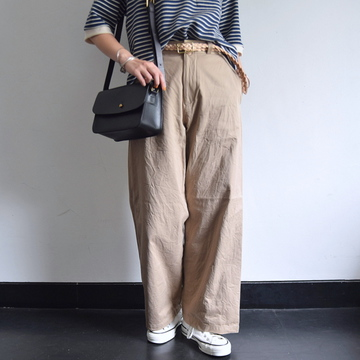 YAECA(ヤエカ) CHINO CLOTH PANTS WIDE【K】