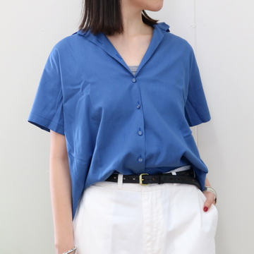 LENO&Co.(リノアンドコー)/Gathered Short Sleeve Blouse【T】