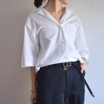 【30% off sale】DRIES VAN NOTEN(ドリスヴァンノッテン) CRUZ 3289 ショートスリーブシャツ【K】